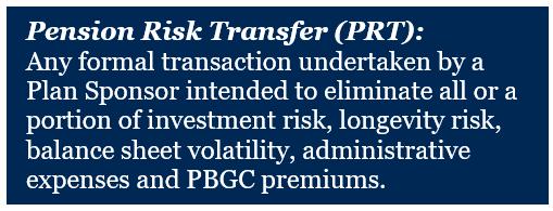 Pension Risk Transfer